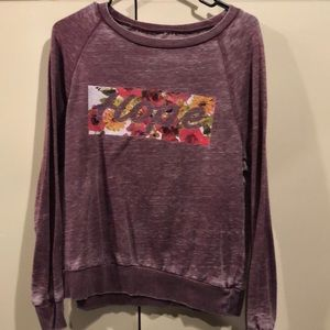 "Mauve ""Hope"" long sleeve T-shirt size small 🌺"